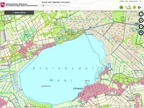Vorschau auf www.umweltkarten-niedersachsen.de