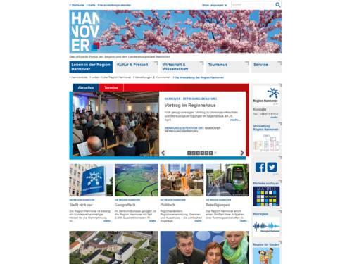 Vorschau auf www.region-hannover.de