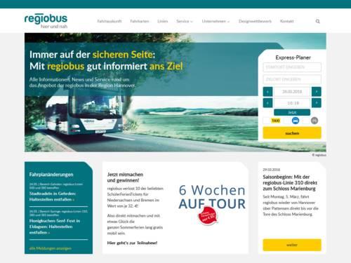 Vorschau auf regiobus.de