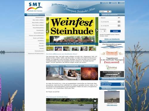Internetportal der Steinhuder Meer Tourismus GmbH