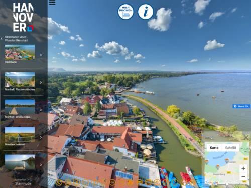 Vorschau auf den virtuellen Rundgang durch die Region Hannover auf www.hannover-living.de