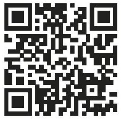 QR-Code / Grafik aus weißen und schwarzen Quadraten.