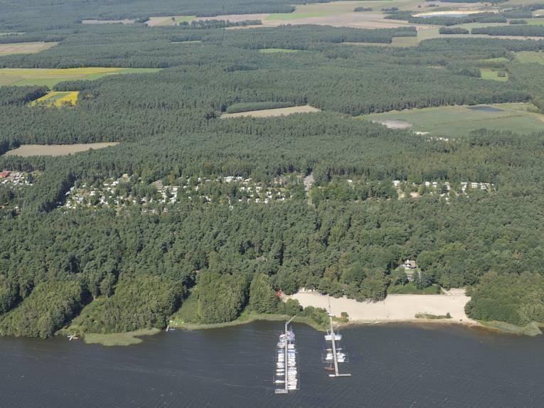 Luftbild Steinhuder Meer